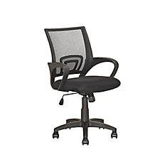LOF 309 O Chaise De Bureau Noir