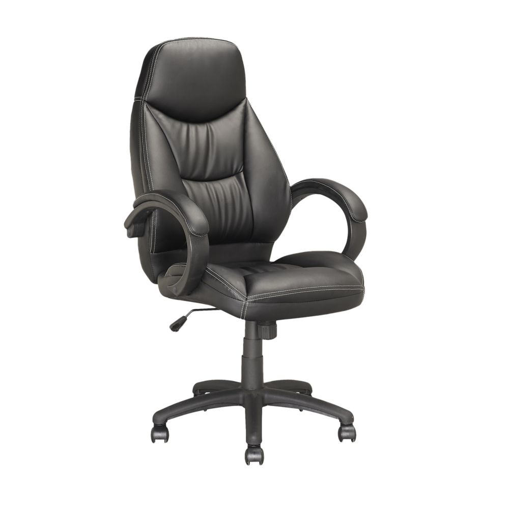 LOF-508-O Executive Office Chair in Black Leatherette
