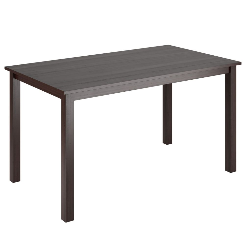 "DRG-795-T Atwood 55"" Wide Cappuccino Stained Dining Table"