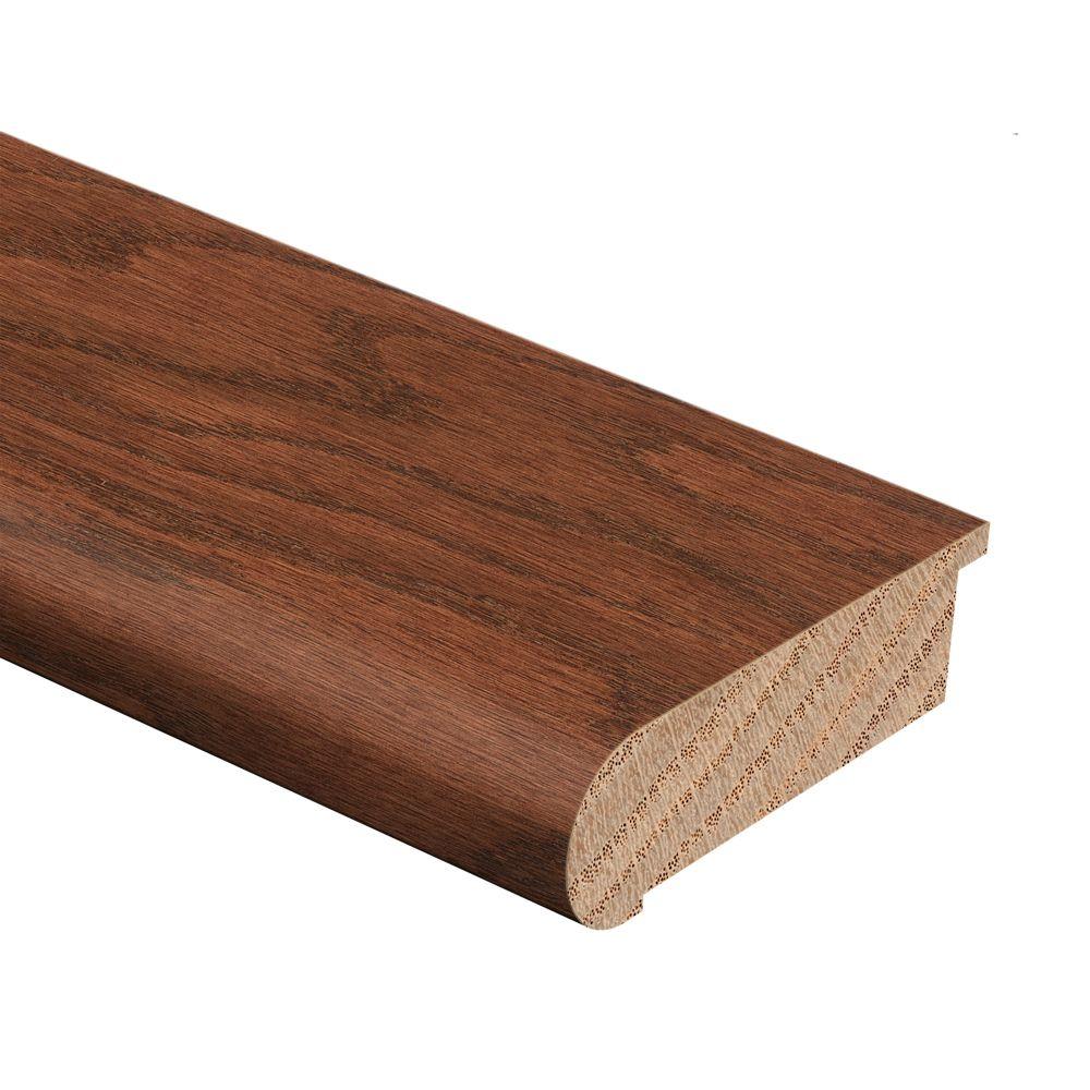 """Zamma Deep Russet Oak 94"""" Stair Nose 3/4"""" FL"""