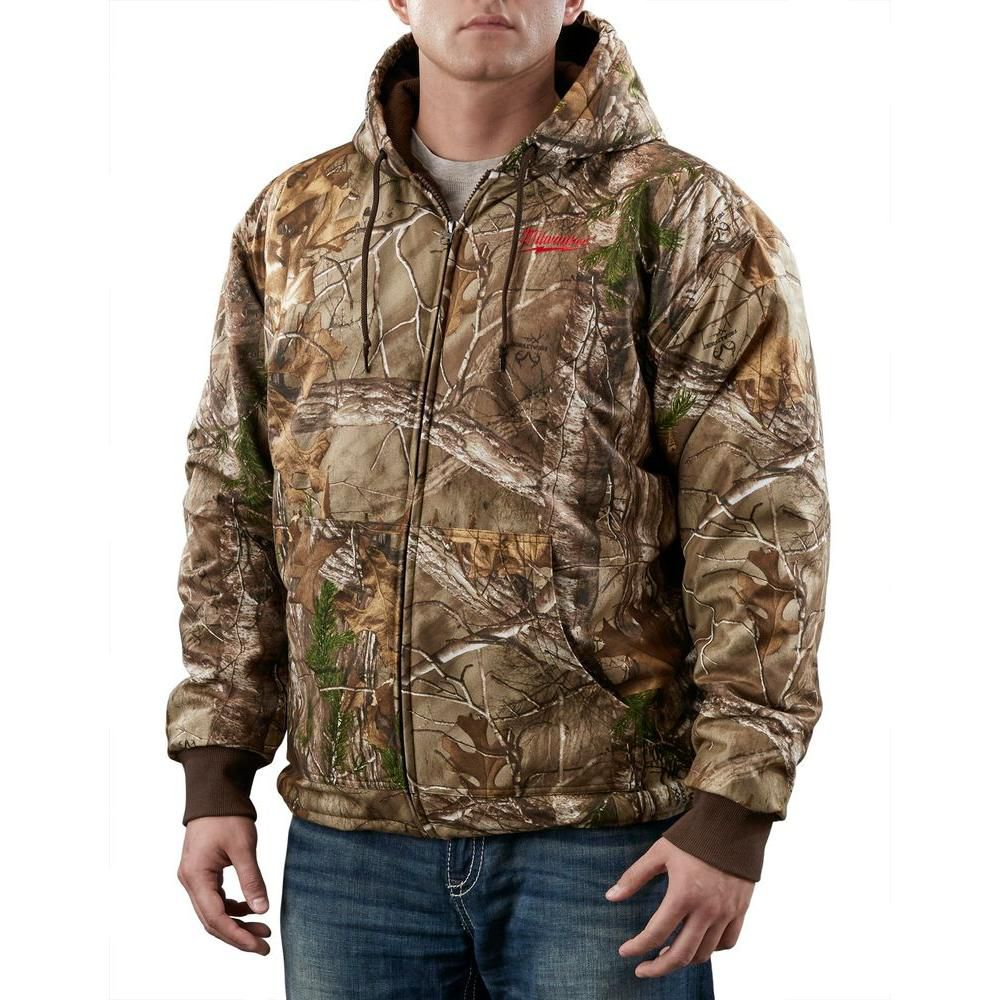 M12 CAMO XTRA HEATED HOODIE W/ BATTERY - 2X