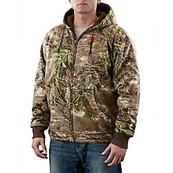 Milwaukee Tool M12 Cordless Realtree Max-1 Camo Heated Hoodie Only - 2X