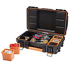 22-Inch Small Parts Organizer Pro Tote in Black