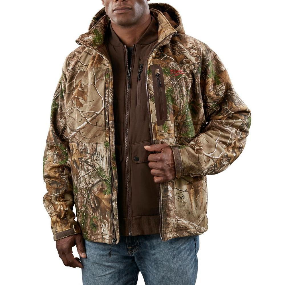 M12 Cordless Realtree Xtra Camo 3-in-1  Heated Jacket Kit - S