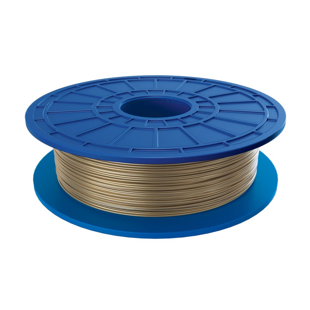 PLA 3D Filament in Gold