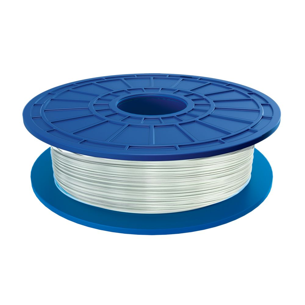 PLA 3D Filament in Translucent White