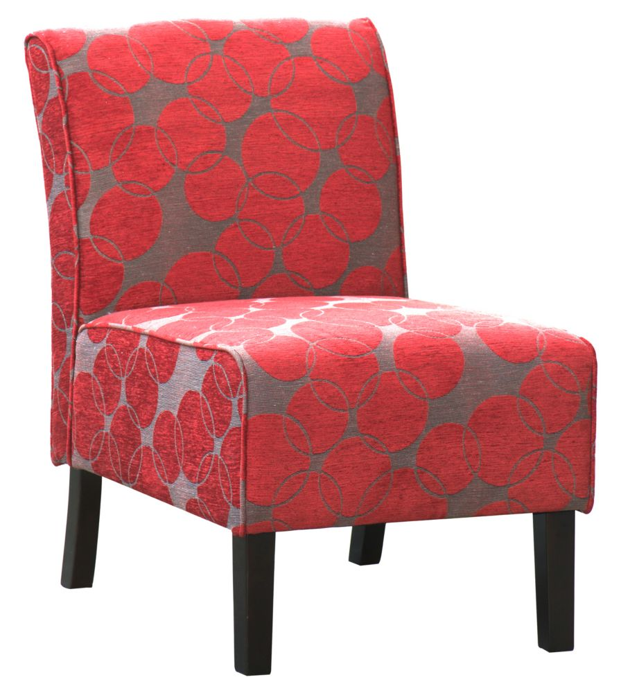 Worldwide Homefurnishings Inc. Lanai Accent Chair Red