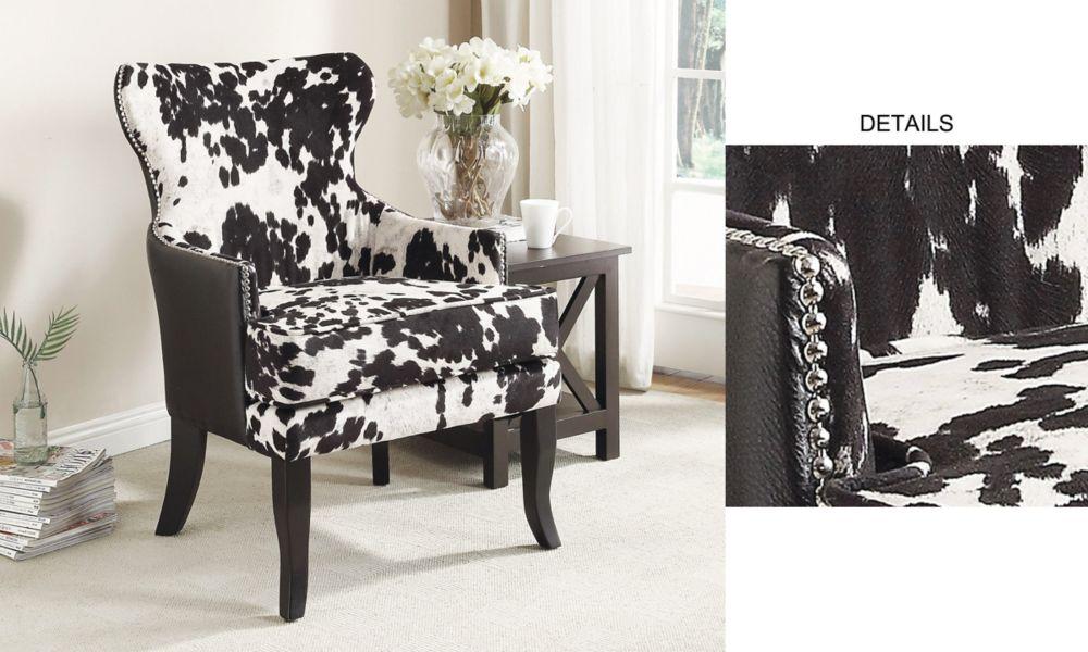 Angus II-fauteuil d'appoint-noir