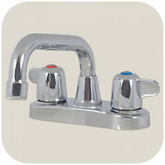 Laundry Faucet By Sayco: 4 In. Centreset With Trap Seal Primer Outlet