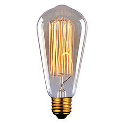 Canarm 60W Vintage Filament Tapered Bulb