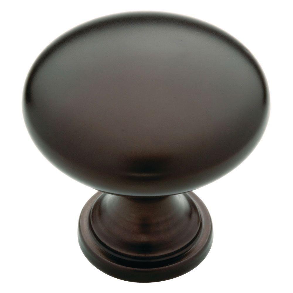 1-1/4 in. Dark Oil Rubbed Bronze Hollow Cabinet Knob