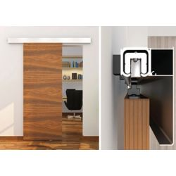 Onward Contemporary Style Concealed Rail System For Decorative Barn Doors