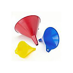 Colour Assorted Funnels