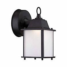 1-Light Satin Bronze Integrated LED Outdoor Wall Lantern - ENERGY STAR®