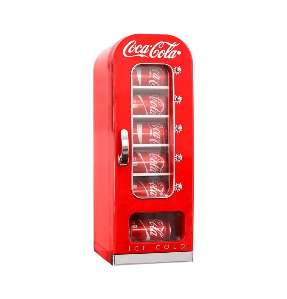 Frigo distributeur rétro Coca Cola
