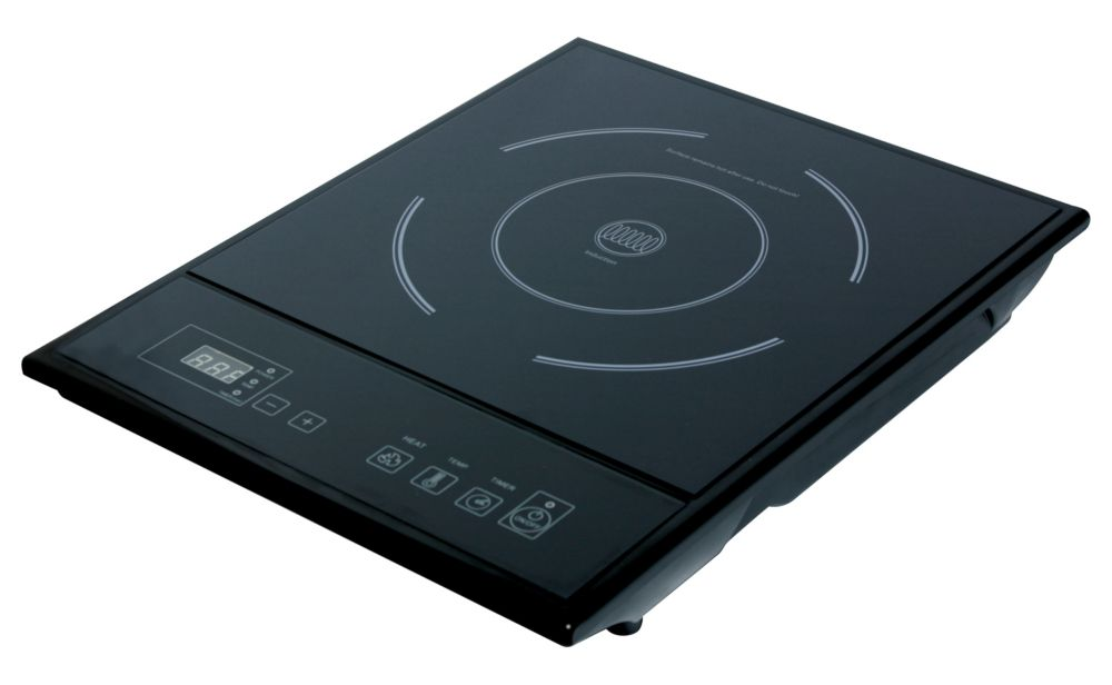 Single Burner Induction Cooktop in Black