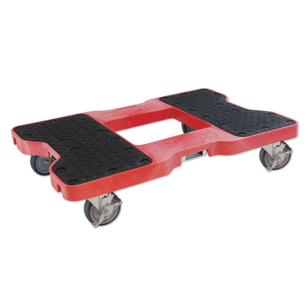 SL1500D4R Snap-Loc Dolly, Red