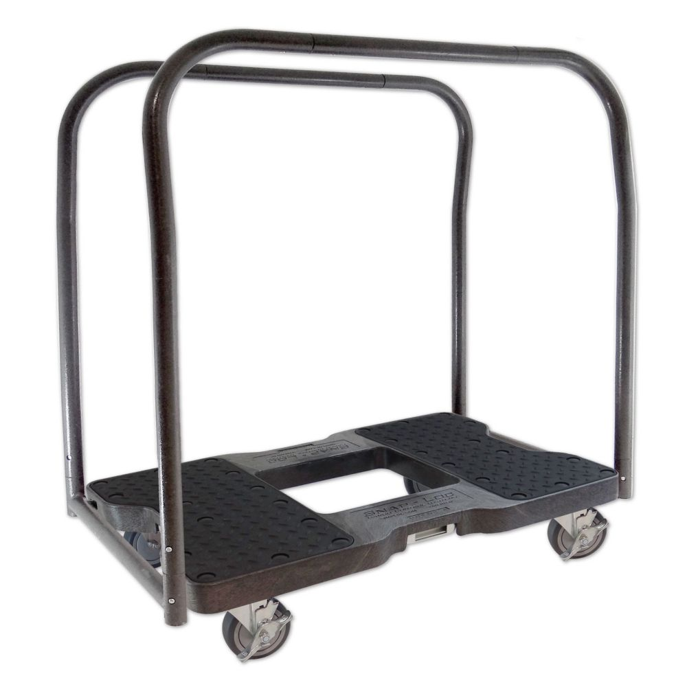 SNAP-LOC 1500 Lb. Capacity E-Track Panel Cart & Dolly  Black
