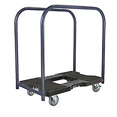 SNAP-LOC Panel Cart Dolly, Black