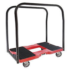 SNAP-LOC Panel Cart Dolly, Red