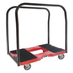 SL1500PC4R SNAP-LOC Panel Cart Dolly, Red
