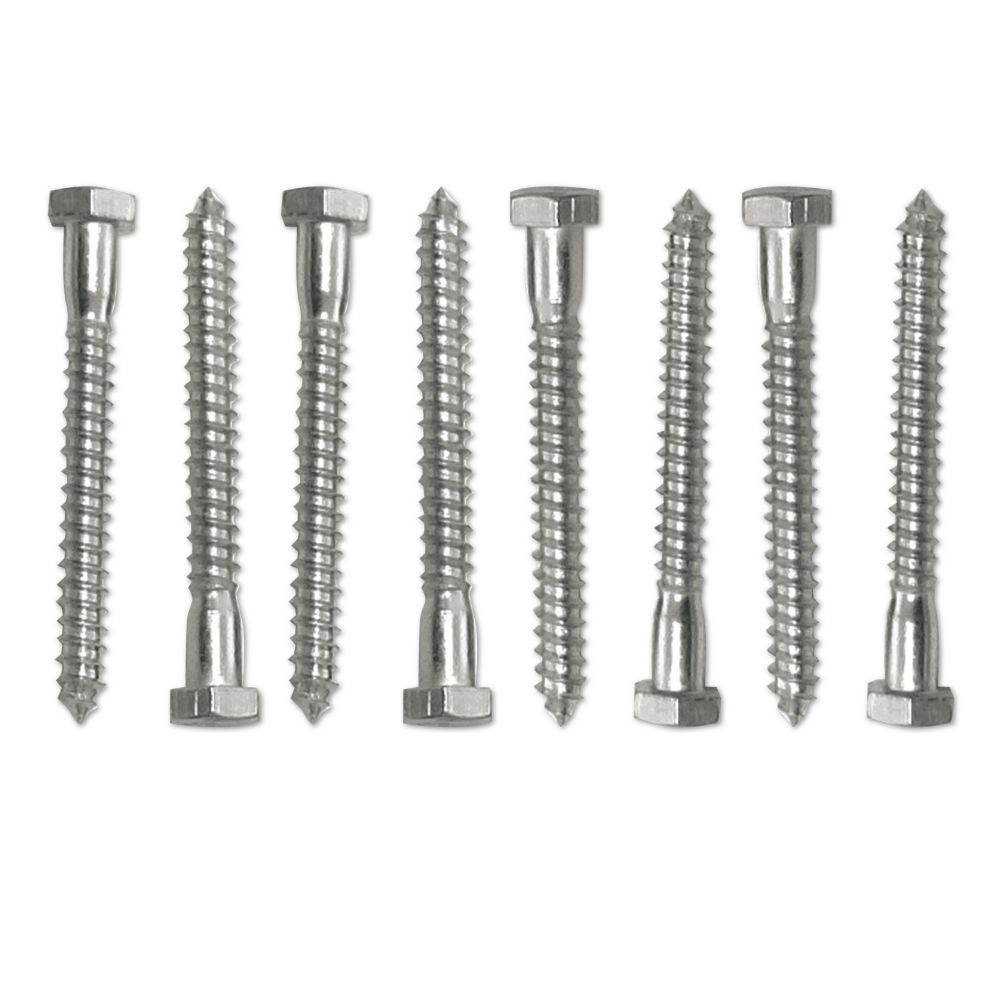 SNAP-LOC Lag Screw Quad Set For 4 SNAP-LOC