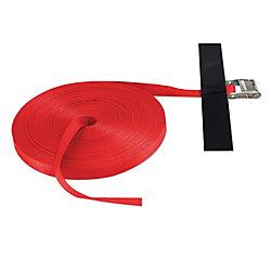 """SLTC1100CR Snap-Loc Cinch Strap 1""""x100' w/CAM RED"""
