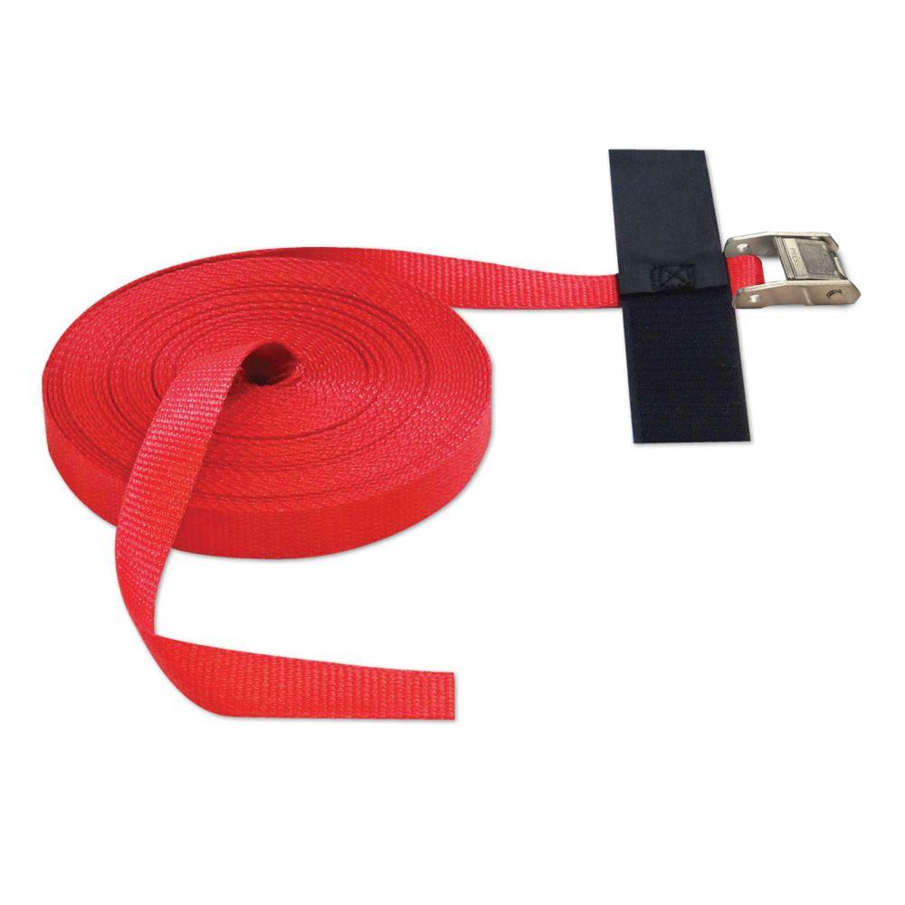 """Snap-Loc Cinch Strap 1""""x50' w/CaM RED"""