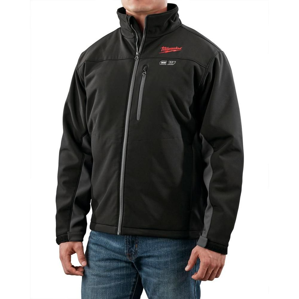 Milwaukee Tool M12 Cordless Black Heated Jacket Only - L