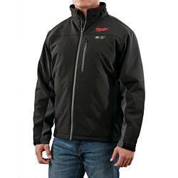 Milwaukee Tool M12 Cordless Black Heated Jacket Only - L
