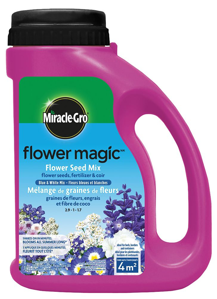 Miracle Gro Flower Magic Blue & White Mix