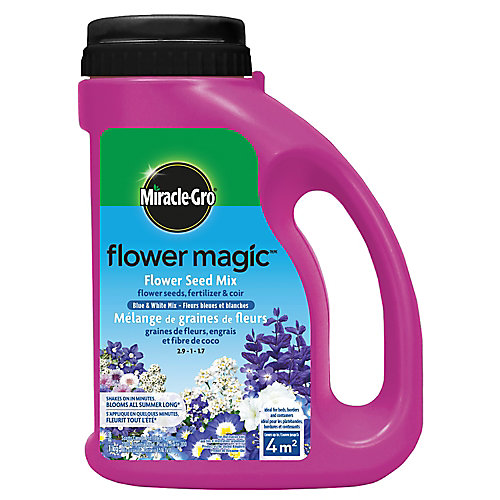 Miracle-Gro<sup>®</sup> Flower MagicMC Fleurs bleues et blanches 1 kg