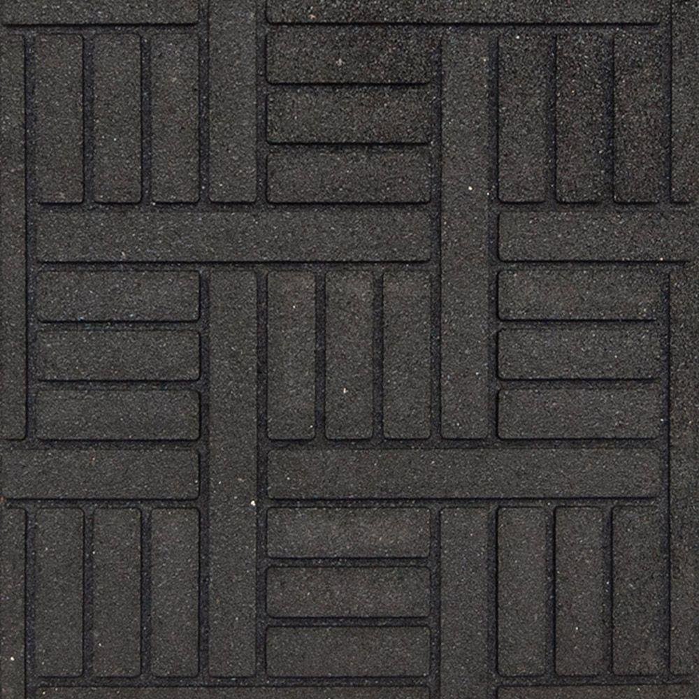 Porter Envirotile, Noir � 18 po x 18 po
