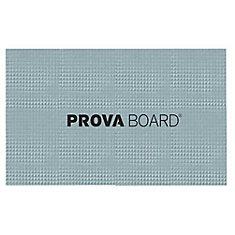 PROVA-BOARD 32-inch X 48-inch X 1/2-inch - WATERPROOFING BOARD 5 PACK