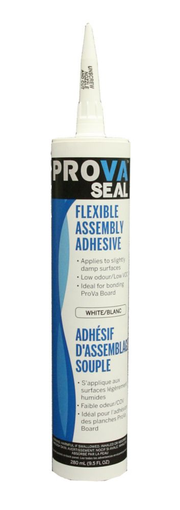 PROVA-SEAL SILICONIZED SEALANT - USED WITH WATERPROOFING BOARD