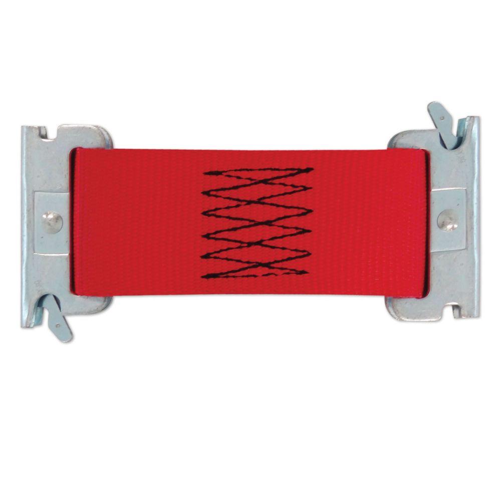 """Snap-Loc Multi-Use 2' x 6"""" E-Strap Red"""