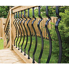 Deck Rail Kit - Baroque Balusters