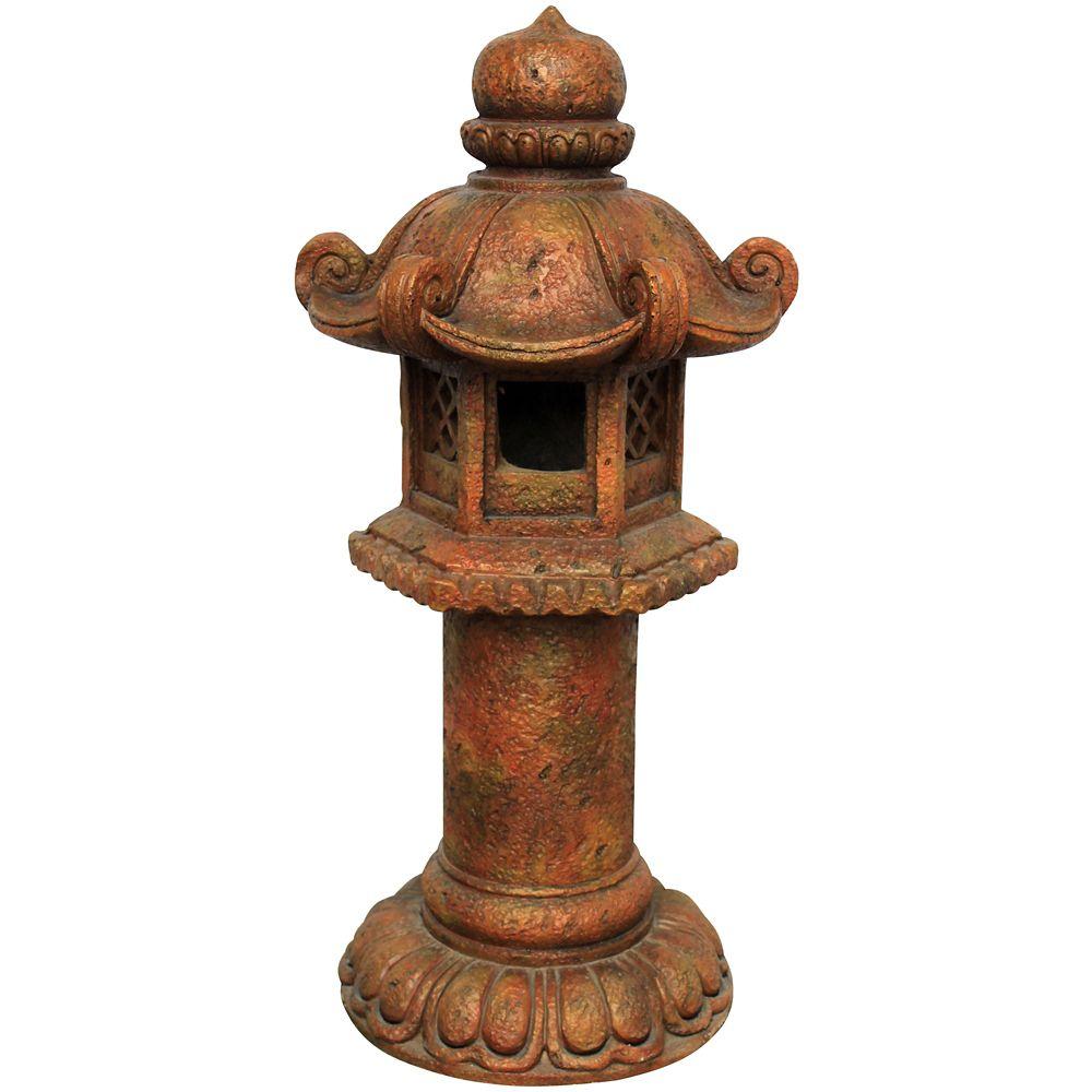 Statue pagode Laiwu