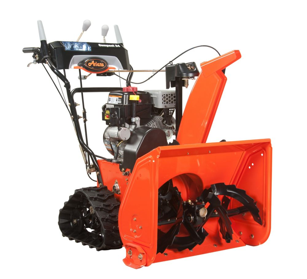 Compact 24 Track Electric Start 2-Stage Gas Snow Thrower