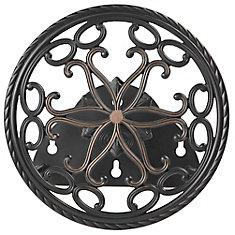 Round Decorative Hose Butler