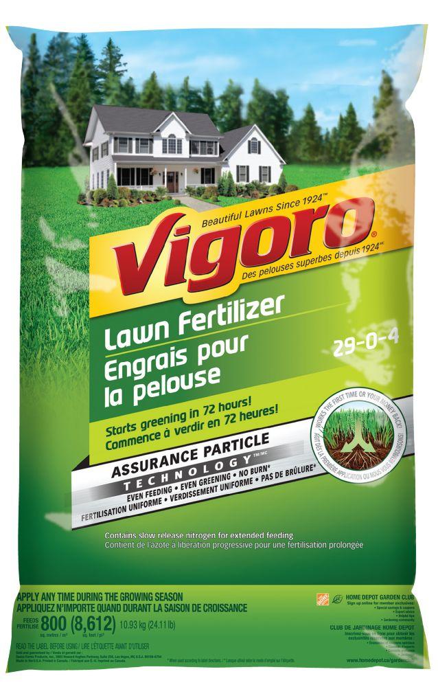 Engrais pour la pelouse 800m2 Vigoro