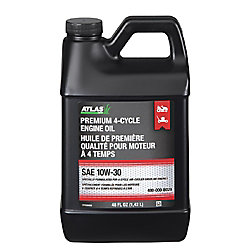 Atlas Premium 10W30 Lawn Mower And Tractor Engine Oil