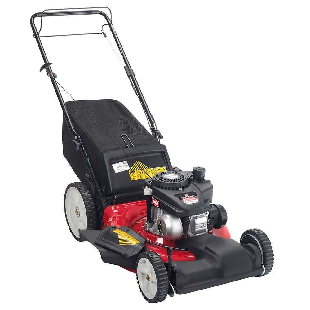 21-inch 3-N-1 Self-Propelled Lawn Mower