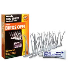 Bird-X Inc. Plastic Bird Spikes Kit - 10ft
