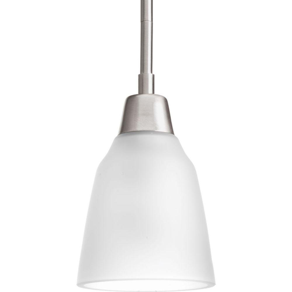 Asset Collection 1-light Brushed Nickel Mini-Pendant