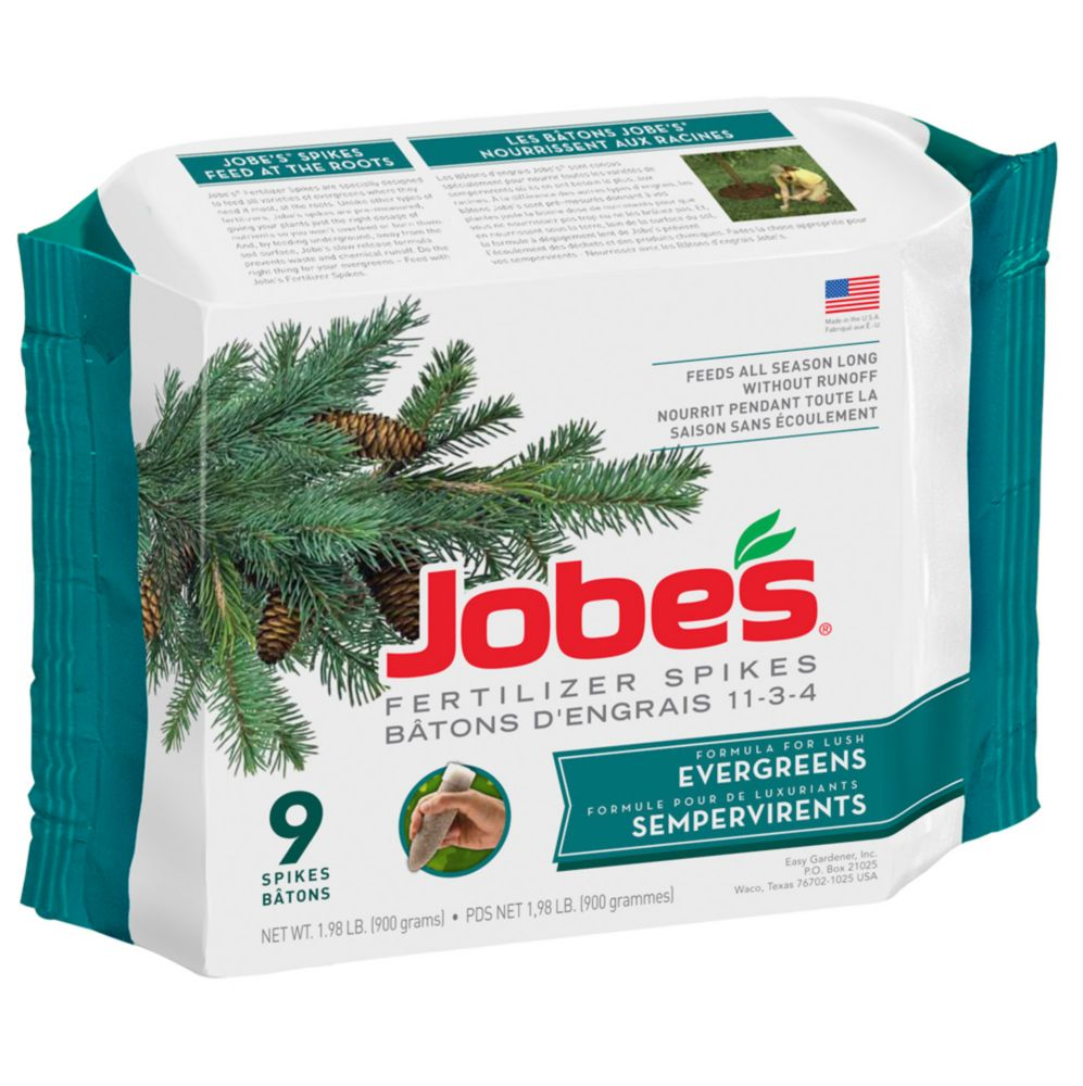 Jobe's Evergreen Fertilizer Spikes (9-Pack)