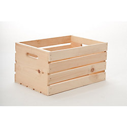 Adwood Manufacturing Ltd 13-inch x 18-inch x 10-inch Wooden Crate