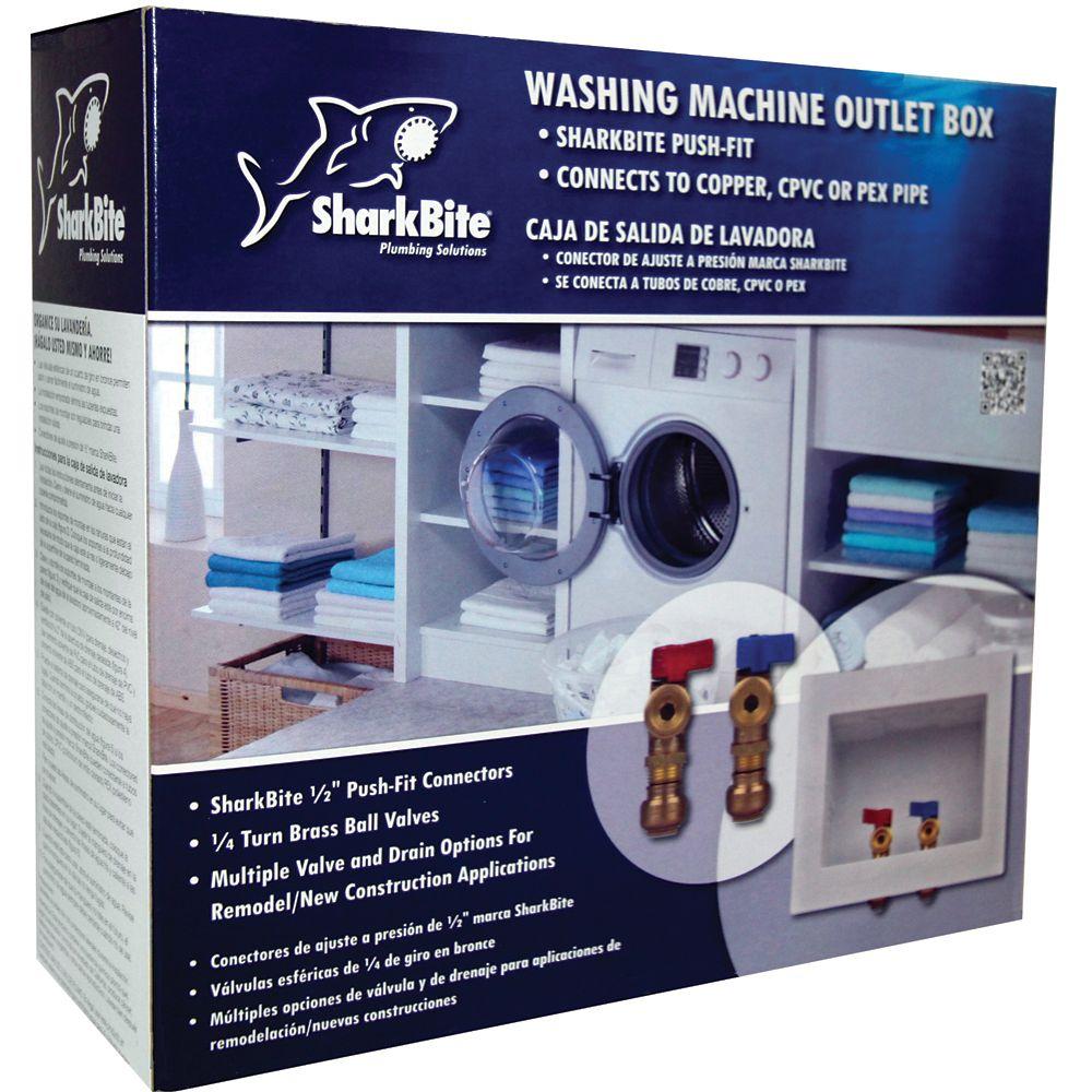 SharkBite Sb Washing Machine Outlet Box