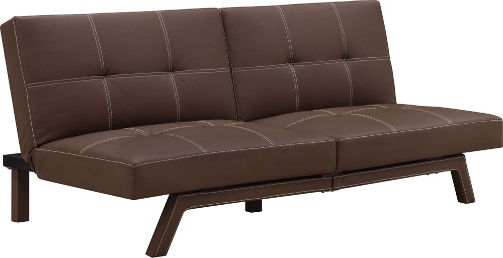 Delaney Split Futon, Brown