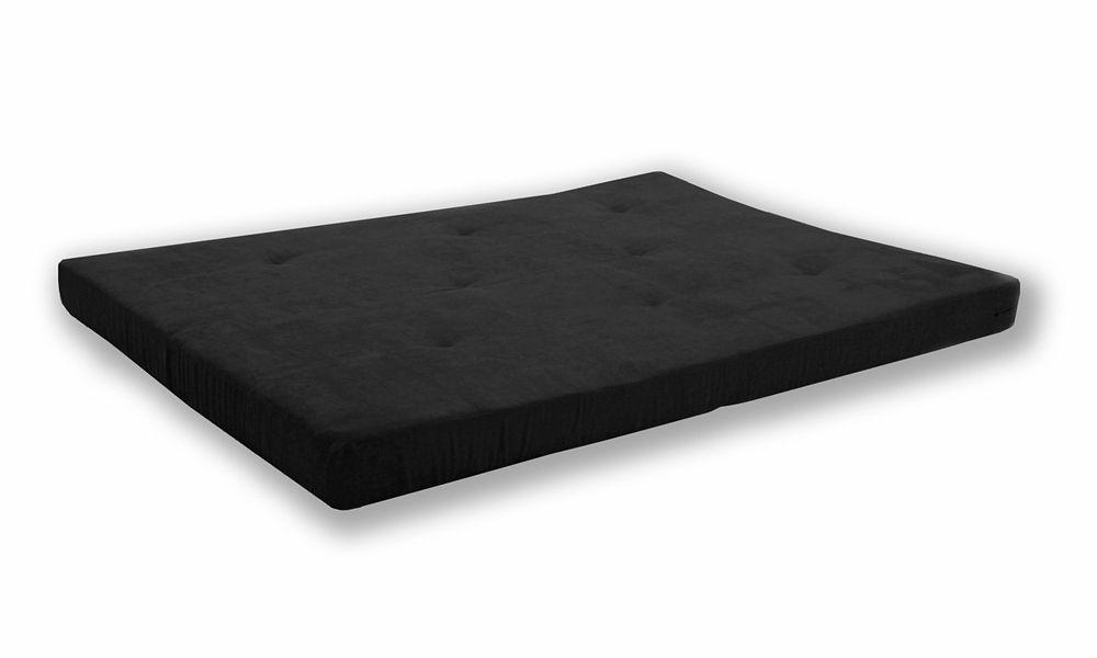 6 Inch Futon Mattress, Black
